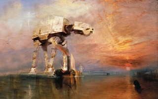 Star Wars Paiting wallpapers and stock photos