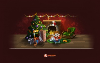 Christmas Snake Surprise wallpapers and stock photos