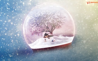 Frosty Globe wallpapers and stock photos
