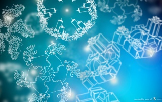 Christmas Snowflakes wallpapers and stock photos