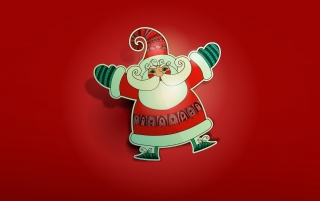 Santa Illustration wallpapers and stock photos