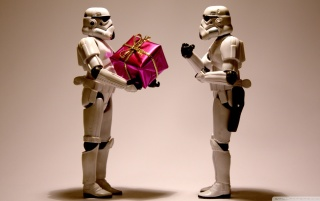 Star Wars Christmas wallpapers and stock photos