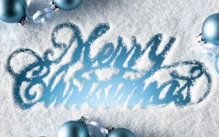 Snowy Merry Christmas Greeting wallpapers and stock photos