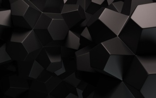 Random: Abstract Black Shapes