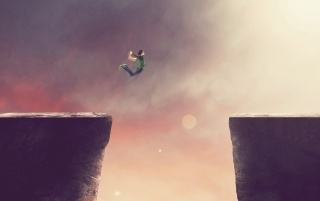 Cliff Jump wallpapers and stock photos