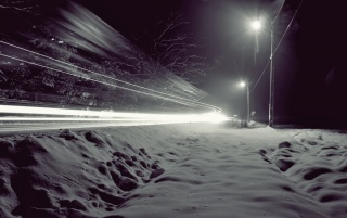 Winter Traffic Lights wallpapers and stock photos