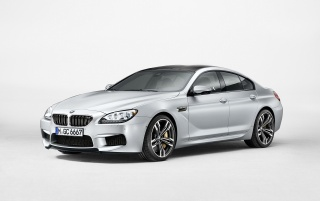Random: 2013 BMW M6 Gran Coupe Side Angle Studio
