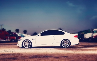 BMW M3 E92 Street Tuning wallpapers and stock photos