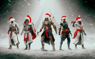Assasin's Creed Christmas wallpapers and stock photos