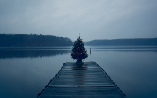 Blue Christmas wallpapers and stock photos