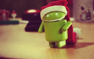 Droid Christmas wallpapers and stock photos