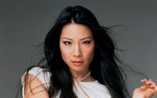 Lucy Liu Portrait wallpapers and stock photos
