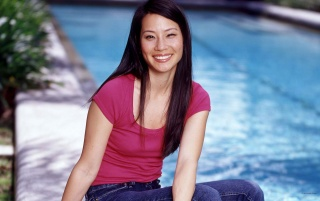 Lucy Liu Smiling wallpapers and stock photos