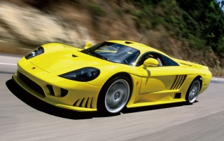 Saleen S7 vor wallpapers and stock photos