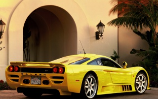 Saleen S7 hinten wallpapers and stock photos