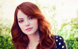Emma Stone Portrait wallpapers and stock photos