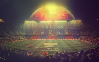 FC Barcelona Camp Nou wallpapers and stock photos