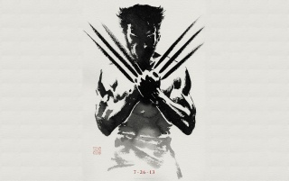 Die Wolverine Teaser Wallpaper wallpapers and stock photos