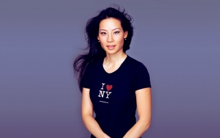 Lucy Liu Black I Love NY Shirt wallpapers and stock photos