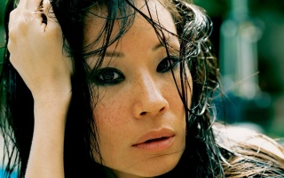 Lucy Liu Close-up wallpapers and stock photos