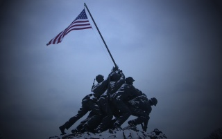 Iwo Jima Monument wallpapers and stock photos