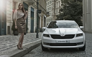 Skoda Vision D Concept wallpapers and stock photos