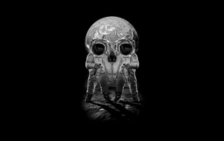 Optic Skull Illusion wallpapers and stock photos