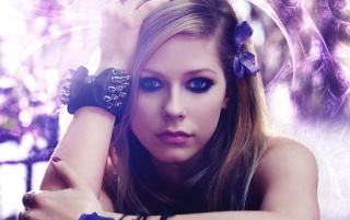Reworked Avril Lavigne Portrait wallpapers and stock photos