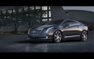 2014 Cadillac ELR Static Side Angle wallpapers and stock photos