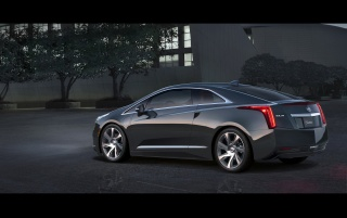 2014 Cadillac ELR Static Rear Side Angle wallpapers and stock photos
