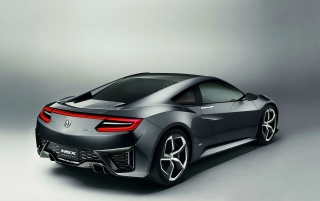 2013 Acura NSX Konzept Rear Angle wallpapers and stock photos