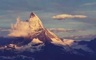 Random: Matterhorn Mountain Peak