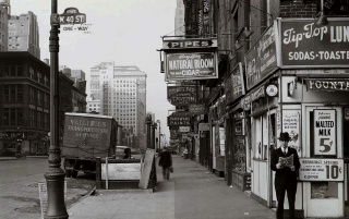 New York City 1940 wallpapers and stock photos
