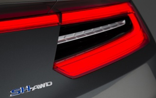 2013 Acura NSX Concept Taillight wallpapers and stock photos