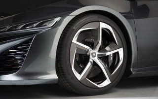 2013 Acura NSX Concept Wheel wallpapers and stock photos