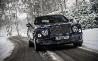 2013 Bentley Mulsanne Motion wallpapers and stock photos