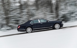 2013 Bentley Mulsanne Motion Side wallpapers and stock photos