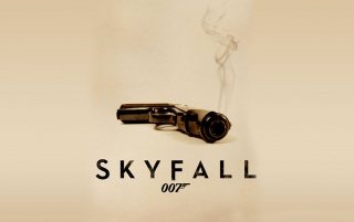 Skyfall Simple Poster wallpapers and stock photos