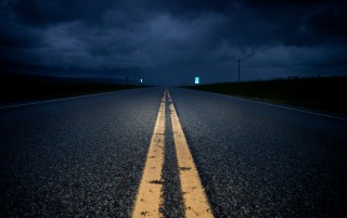 Road at Night wallpapers and stock photos