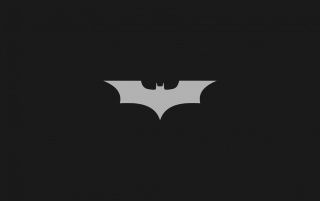 Minimalistic Batman Logo wallpapers and stock photos