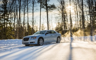 Random: 2013 Chrysler 300 Glacier Motion Side Angle