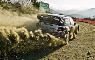 Citroën DS3 WRC Rear wallpapers and stock photos