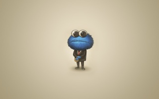 Sesame Street Cookie Monster wallpapers and stock photos