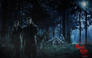 Hansel & Gretel in the Woods wallpapers and stock photos