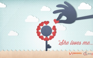 She Loves Me wallpapers and stock photos