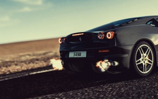 Ferrari F430 Nos wallpapers and stock photos