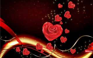 Amor trayendo rosas wallpapers and stock photos