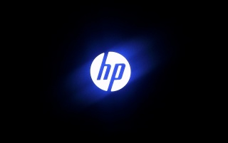HP Logo wallpapers and stock photos