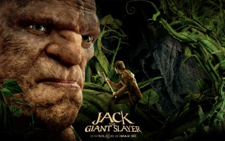 Jack the Giant Slayer Movie Poster wallpapers and stock photos