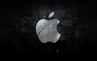Fabric Texture Apple Logo wallpapers and stock photos